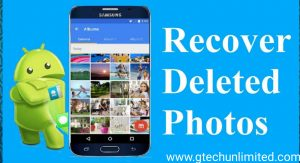 How To Restore Deleted Photos In Android Phone