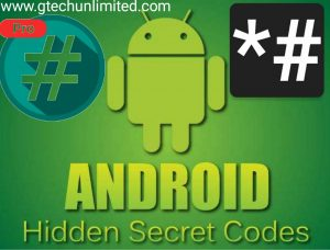 100+ ANDROID SECRET CODES YOU DON'T KNOW ABOUT.