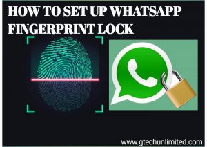 Secure Your Whatsapp With Fingerprint  For  Security Purpose
