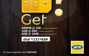 How To Be Eligible For MTN N200 For 1GB And N1000 For 4GB