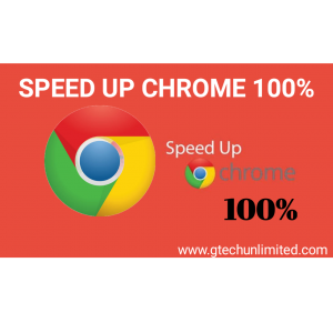 HOW TO SPEED UP GOOGLE CHROME IN LAPTOPS FOR FAST INTERNET.
