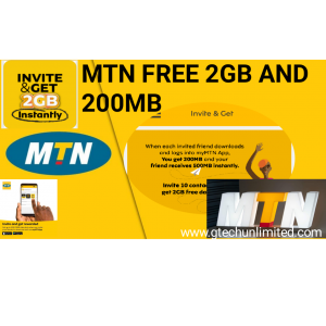MTN IS Giving Out Free 2GB AND 200MB To All Customers