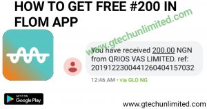 FLOM APP IS GIVING #200 TO EVERY SIM, SEE HOW!