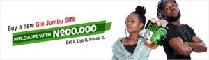 How To Get N200,200 With Just N100 In Glo Jumbo SIM