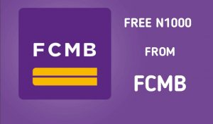 How to get free #1000 from FCMB