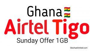 Ghana Airtel Tigo Sunday Special VPN Setting Capped 1GB