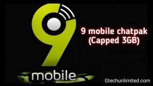 How To Activate 9mobile Chatpak Cheat 3GB