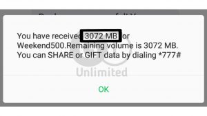 How To Activate 3GB for ₦500 In Glo
