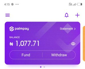PalmPay: 4 Ways To Earn Money On PalmPay App.