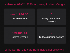 How to earn up to N500 - N1000 daily with your Instagram account On InsMe