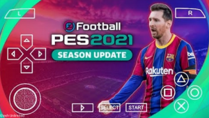PES 2021 PPSSPP Android English Version Camera PS5 Update Real Face And Best Graphics