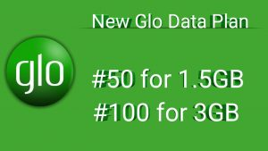 Glo Youtube Data Cheat 2021 N50 for 1.5GB and N100 for 3GB