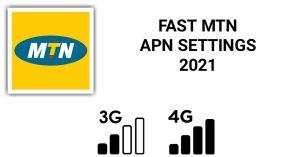 Fast MTN Nigeria APN Settings For 4G LTE