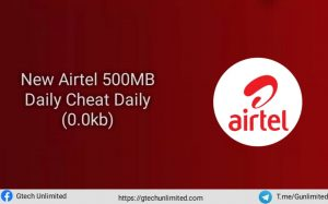 New Airtel 500MB Daily Data Cheat For April/May 2021 (0.0kb)